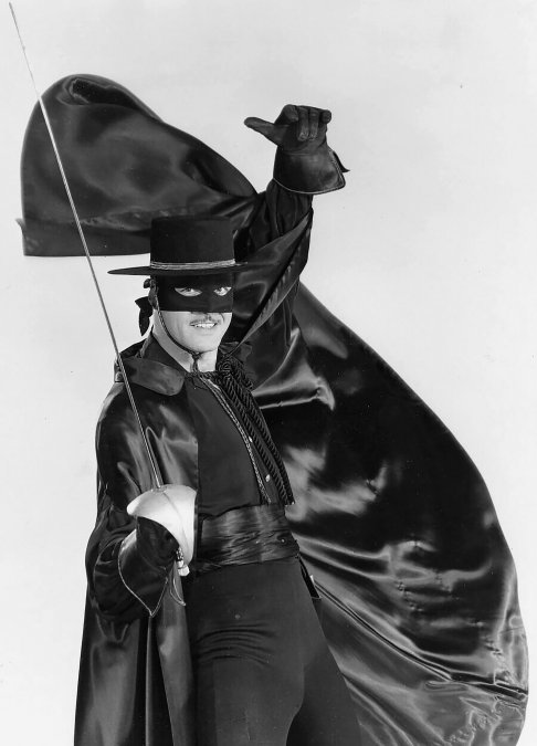 El Zorro, la historia real detrás de la exitosa tira de TV