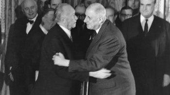 Francia y Alemania se reconcilian: el Tratado del Elíseo