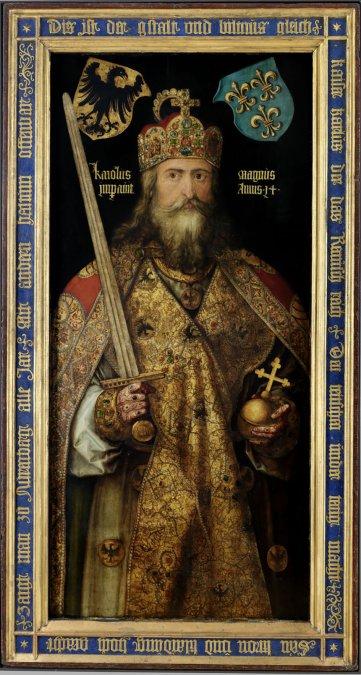 Emperador Carlomagno porAlberto Durero.