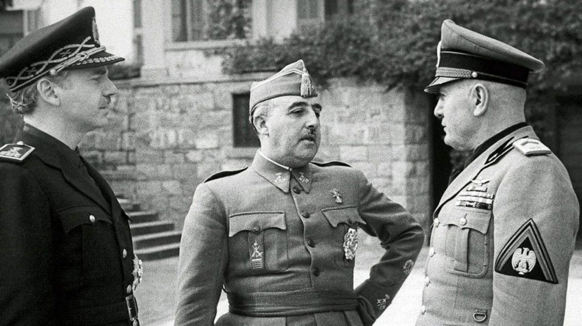Diario de guerra: Entrevista de Bordighera entre Franco y Mussolini