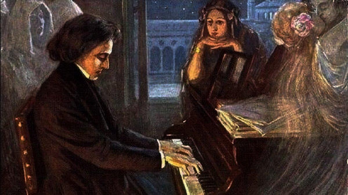Frédéric Chopin y la escritora George Sand se mudaron a la isla por su clima saludable