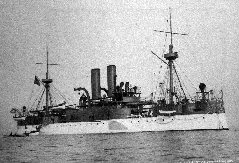 El USSMaineen 1898.