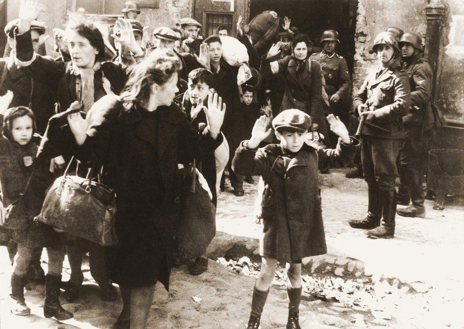 El levantamiento del ghetto de Varsovia