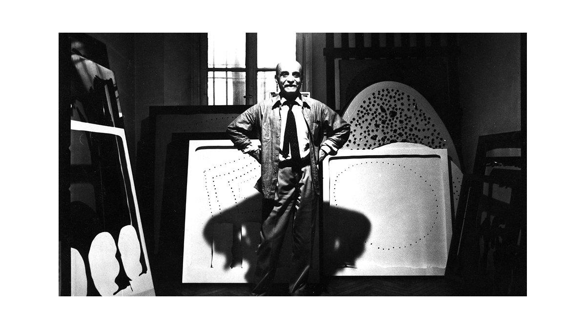 Lucio Fontana, el explorador del espacio