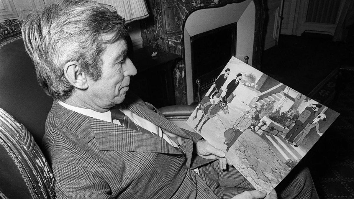 Hergé y Tintín
