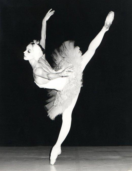 Wilfride Piollet en un montaje del ballet en París