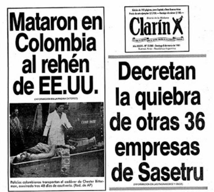 A casi 40 años de la quiebra de Sasetru