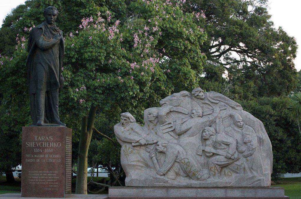 Estatuas que no vemos: Tarás Shevchenko