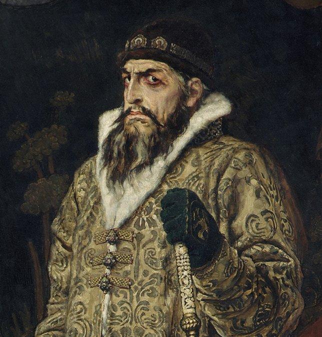 El zar Iván el Terrible, vida y muerte ante un tablero de ajedrez