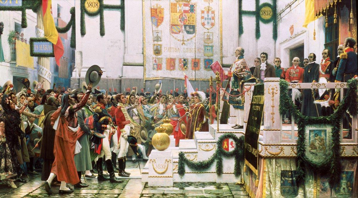La promulgación de la Constitución de 1812