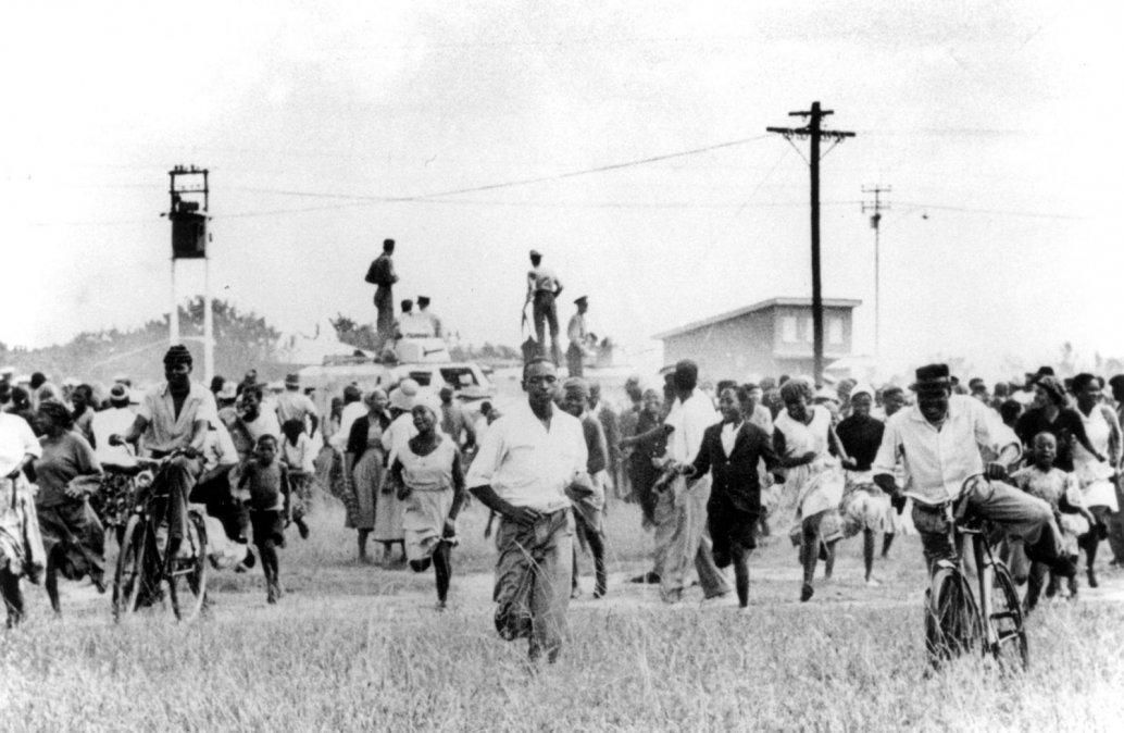 El apartheid y la masacre de Sharpeville