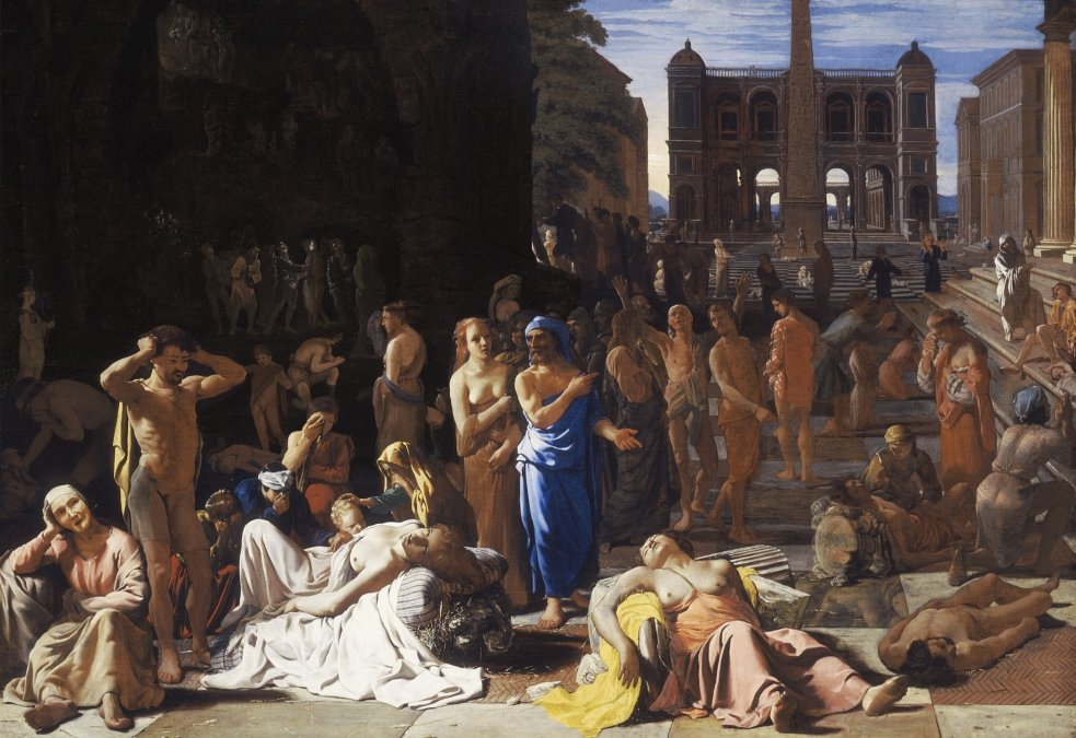 La Peste de Atenas porMichiel Sweerts