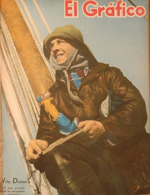 Vito Dumas: el ermitaño de los mares