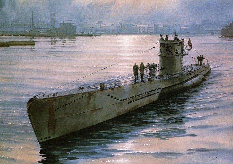Los secretos para superar el claustrofóbico confinamiento en los submarinos nazis de la Segunda Guerra Mundial
