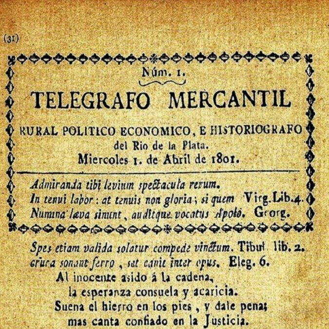 Los primeros periódicos argentinos