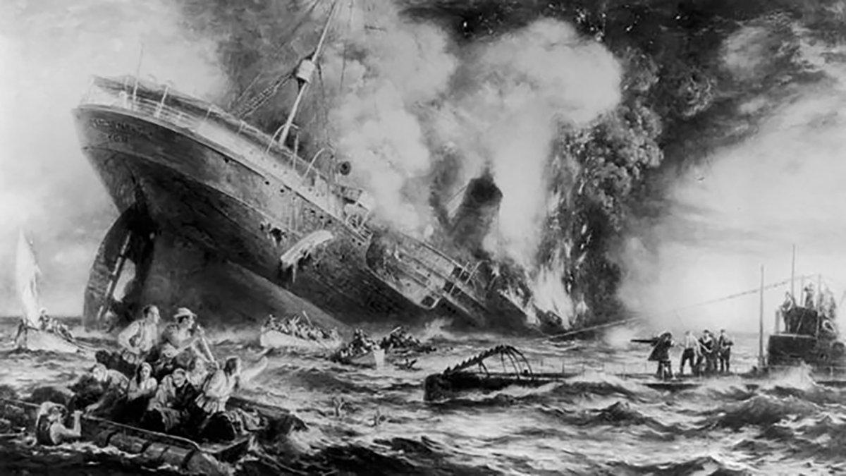 ¿Por qué EEUU entra a la Primera Guerra Mundial?