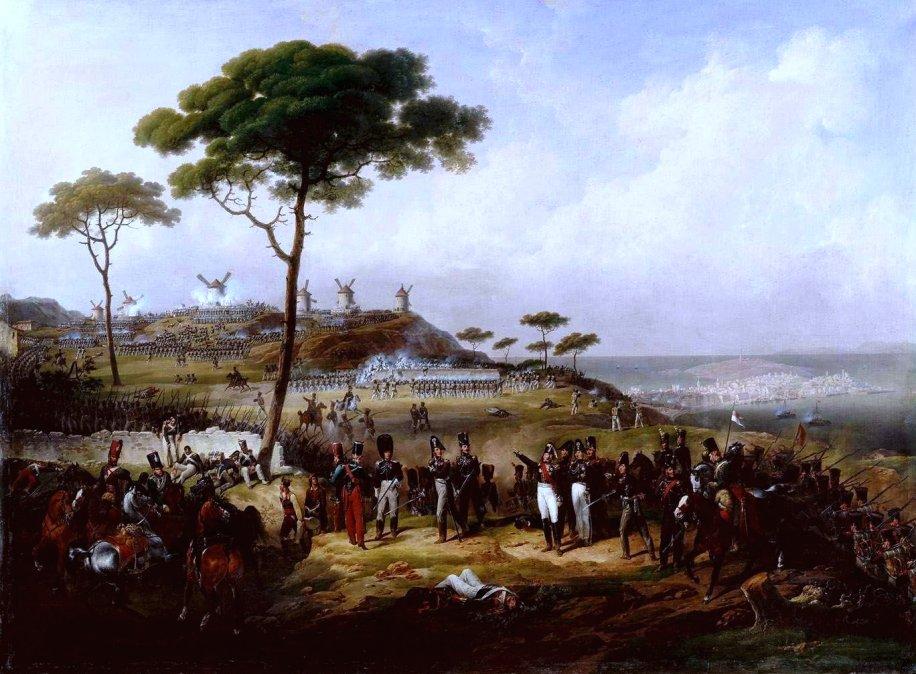 Episodio de la intervención francesa en España en 1823(1828)