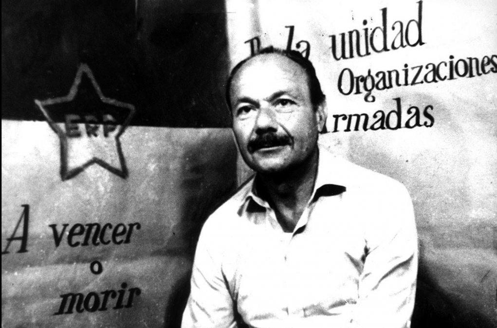 Oberdán Sallustro. Fue secuestrado el 21 de marzo de 1972 por el ERP y encontrado muerto con tres tiros el 10 de abril. Esta foto fue tomada durante su cautiverio