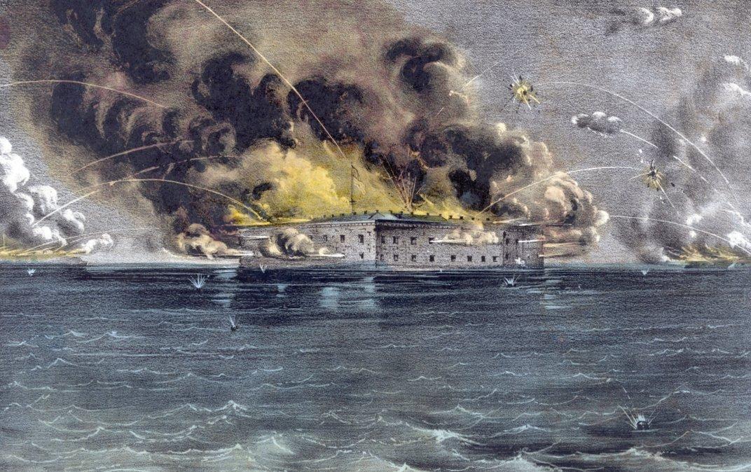 El bombardeo de una fortaleza que comenzó la Guerra Civil