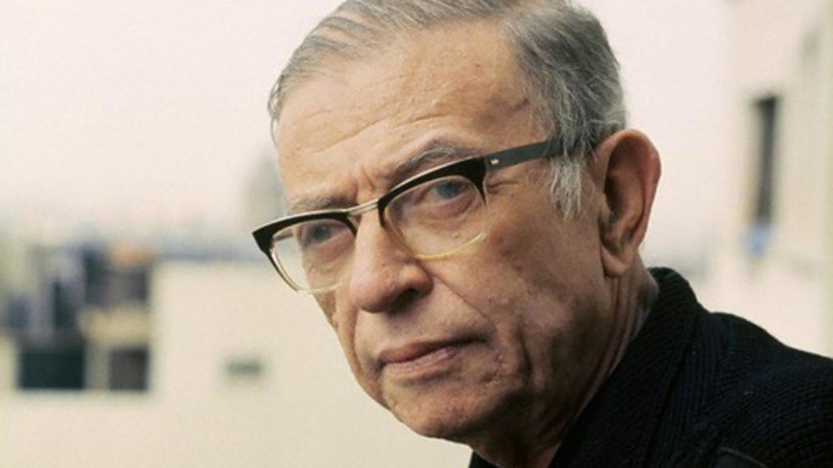 Los ojos de Jean-Paul Sartre (1905-1980)