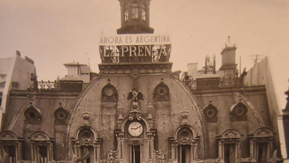 La expropiación del diario La Prensa se realizó en el año 1951