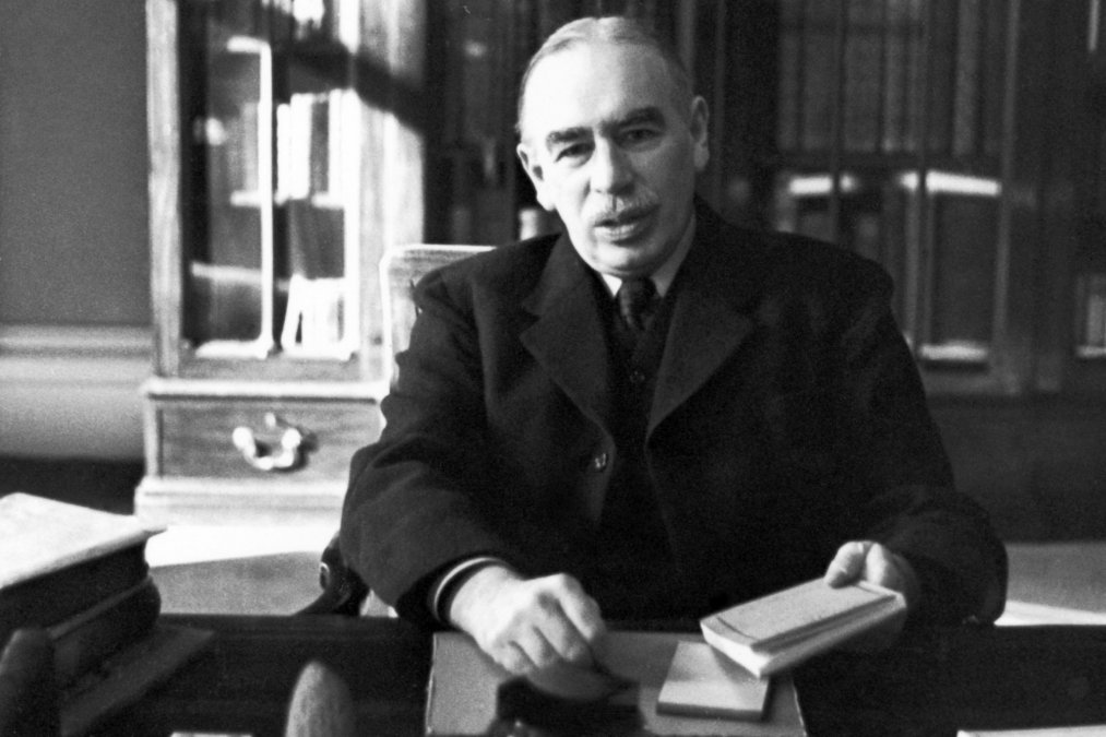Muere John Maynard Keynes