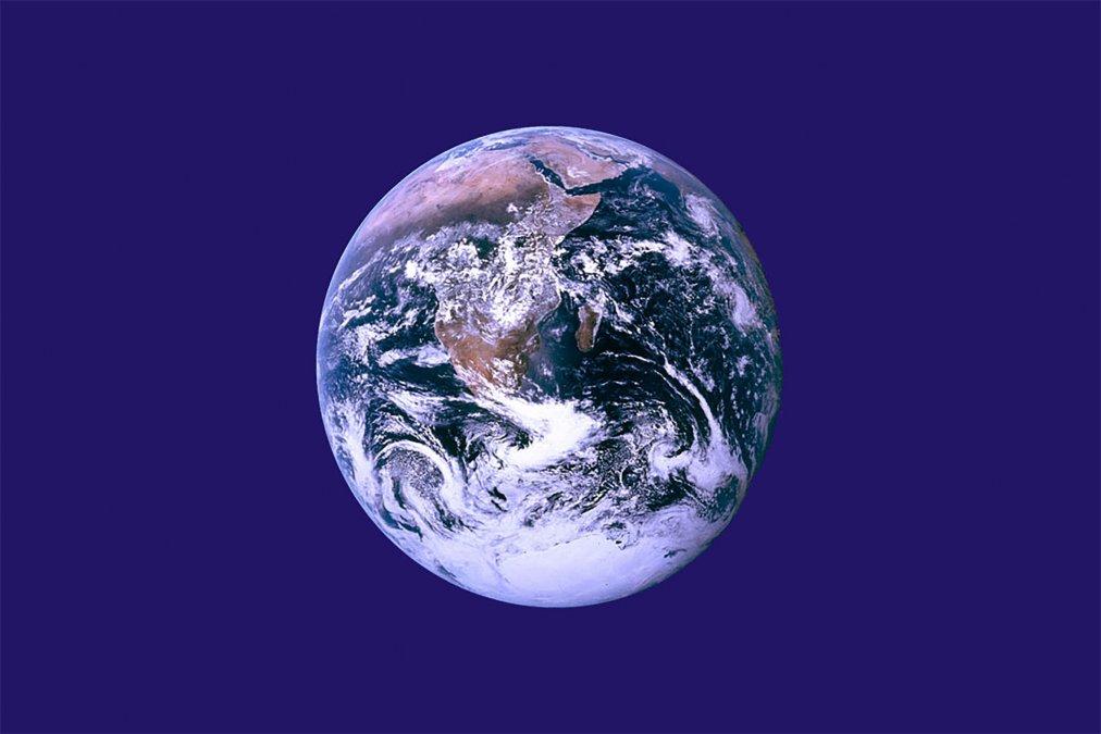 LaBandera de la Tierrano es una bandera oficial