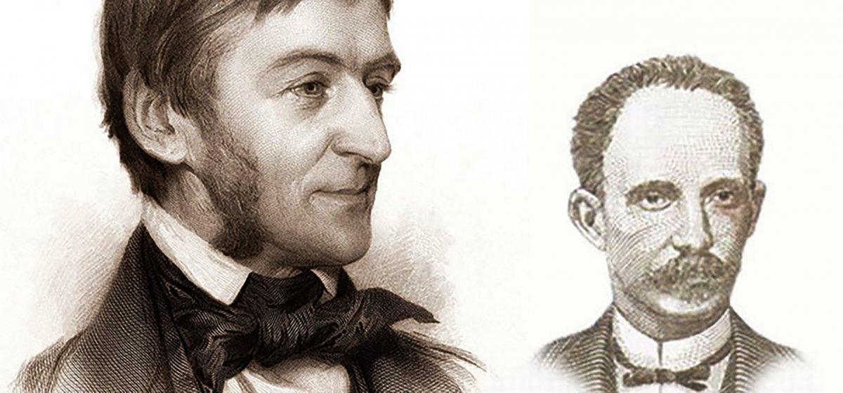 Ralph Waldo Emerson y José Martí