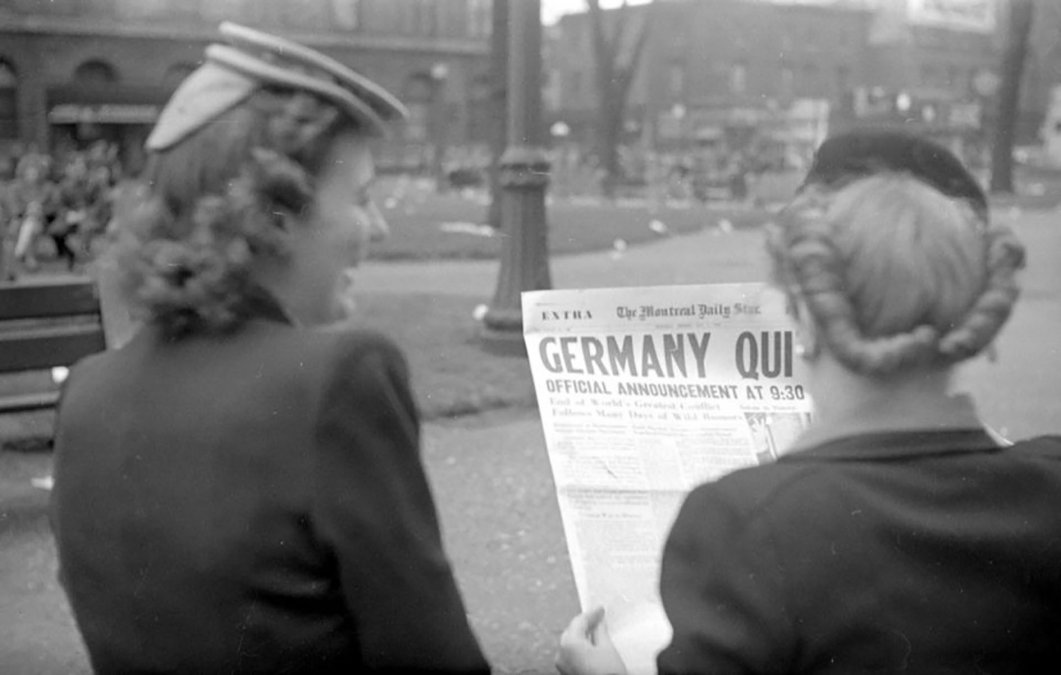 El final de la Segunda Guerra en territorio europeo