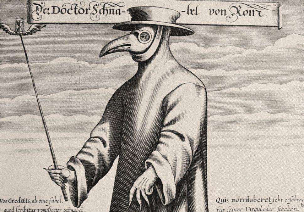 Durante la peste europea del siglo XVII