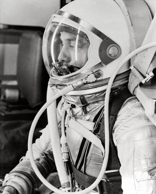 Alan Shepard, el primer estadounidense en el espacio