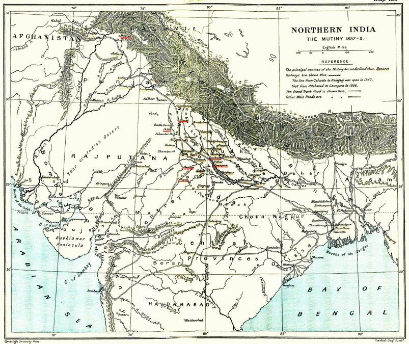 El Motín de la India 1857: La Rebelión de los Cipayos y la Reconquista Británica