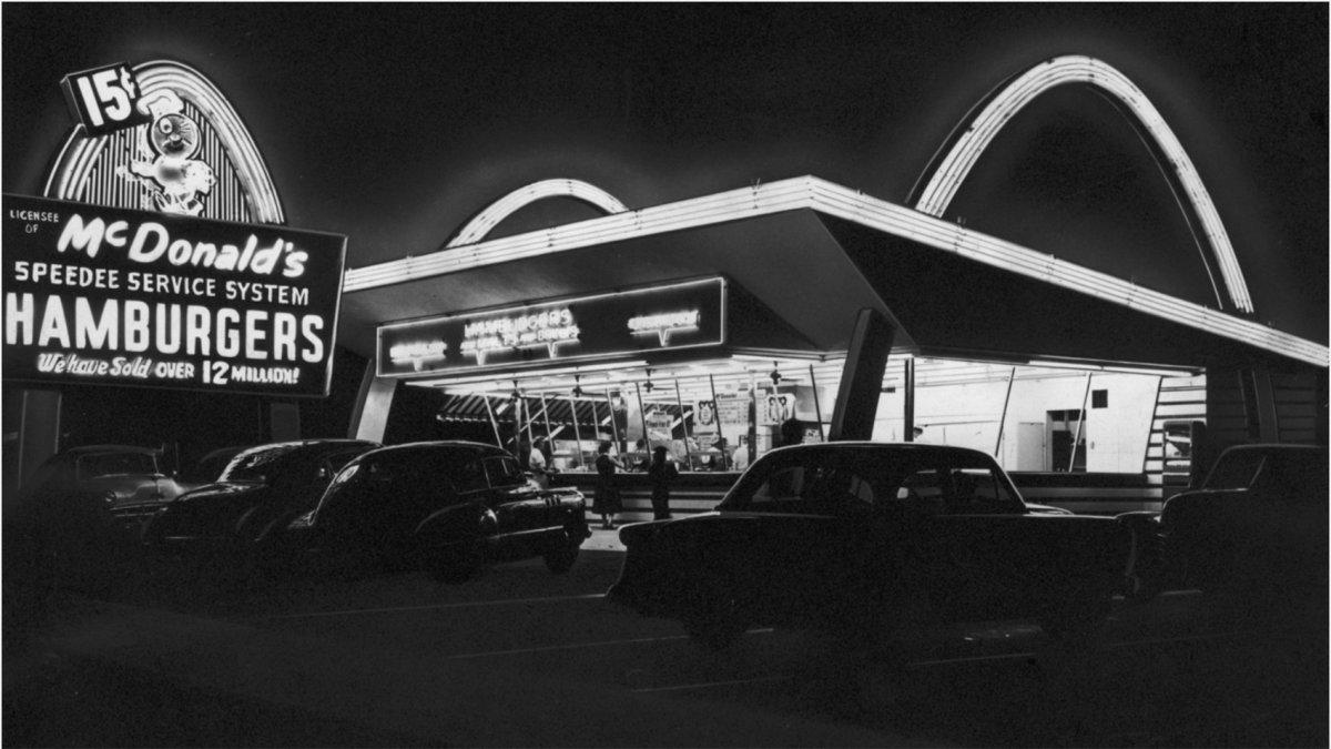 El nacimiento de McDonalds