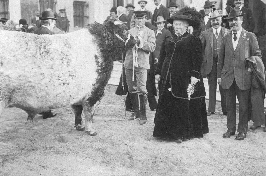 Infanta Isabel de Borbón visitando Argentina en 1910