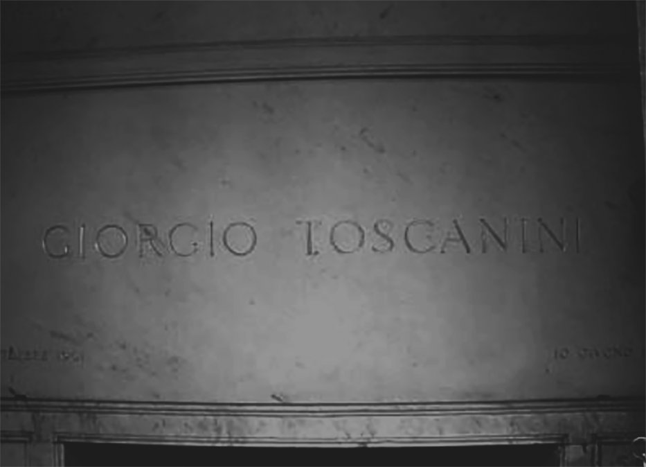 Giorgio Toscanini, el viaje final