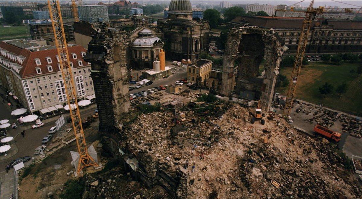Las ruinas de Dresde