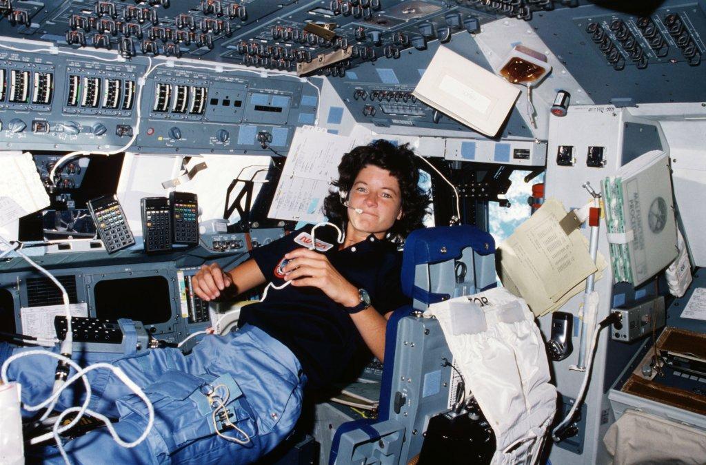 Volando a las estrellas, Sally Ride (1951-2012)