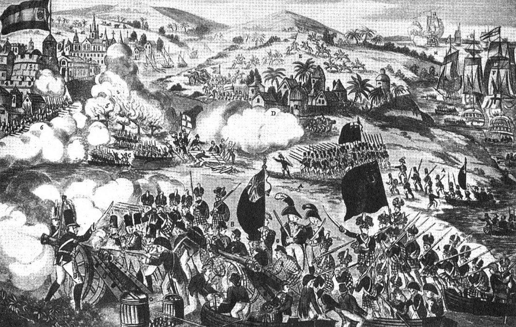Las invasiones inglesas al Río de la Plata. Primera invasión, desembarco en las costas de Quilmes: Bienvenida y apoyo dado a los invasores en la ciudad de Buenos Aires
