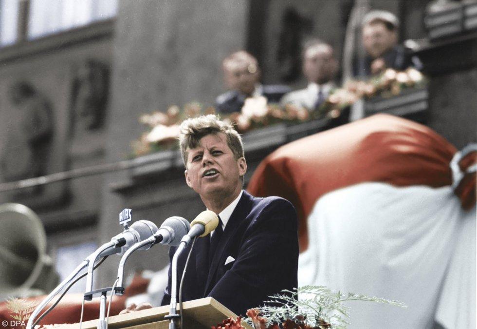 John F. Kennedy: Yo también soy berlinés