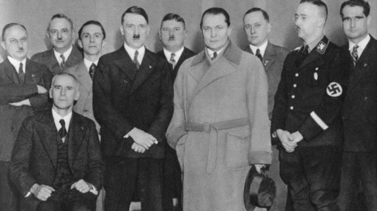 Líderes nazis. Berlín
