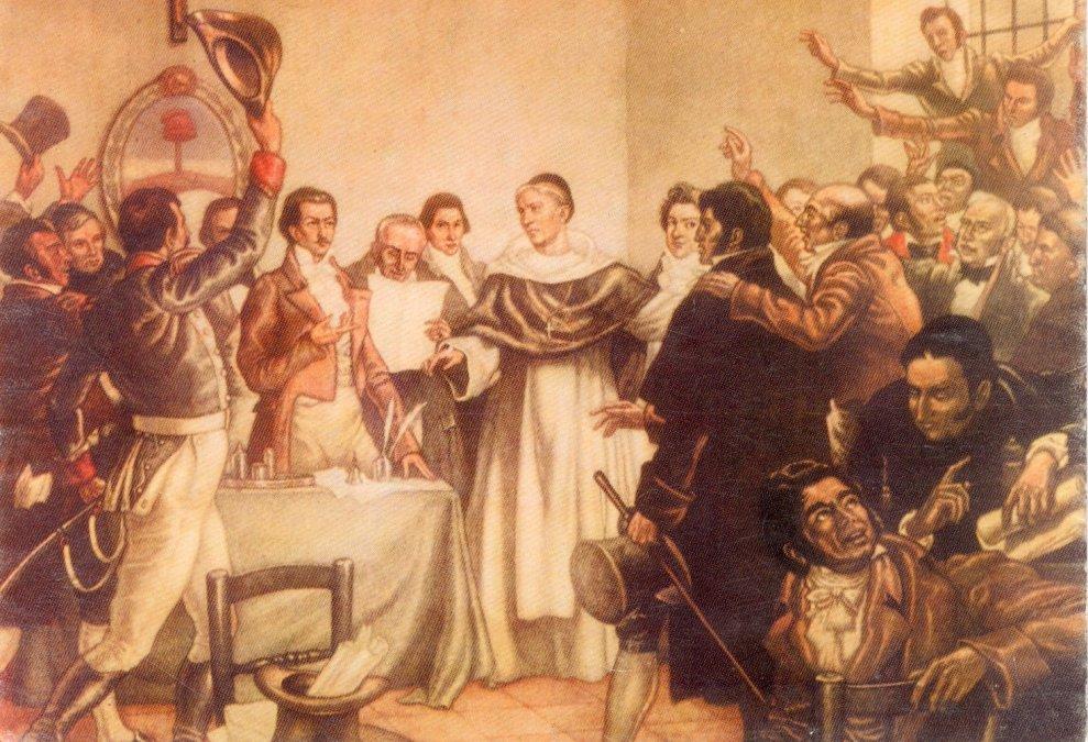 Escenas del Congreso de Tucumán