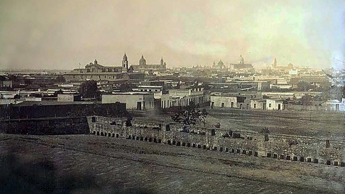 Buenos Aires en 1852 vista desde el Río