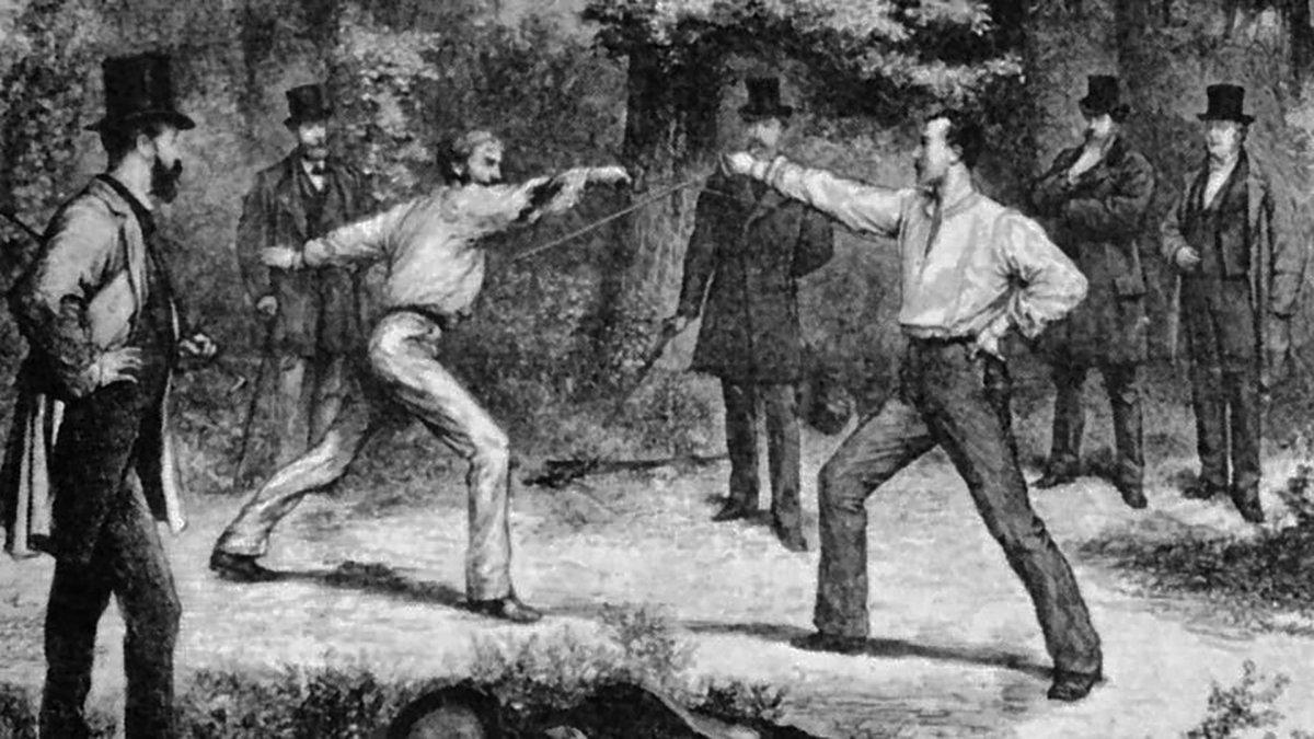 Esas eran cosas de hombres: Duelos y duelistas en el mundo y en la historia argentina