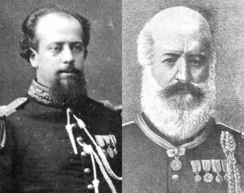 Julio Argentino Roca y su padreJosé Segundo Roca