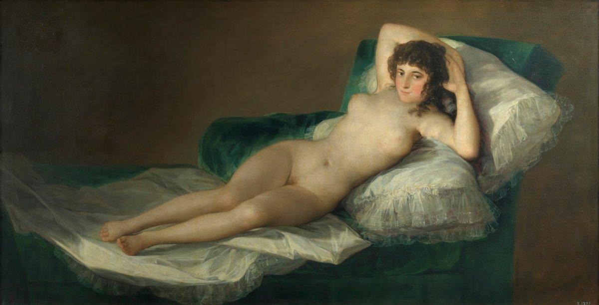 La maja desnuda - Francisco de Goya -1790-1800