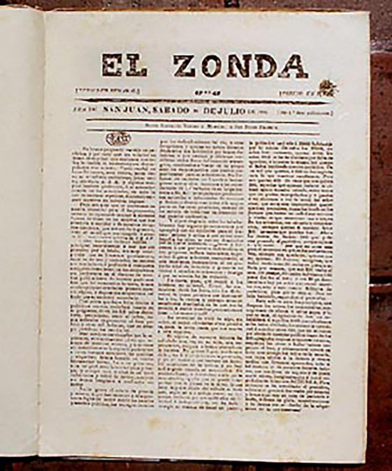 El Zonda, un periódico que marcó una época