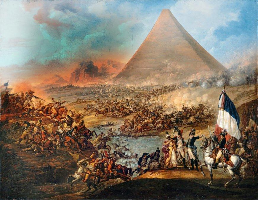 «Desde lo alto de estas pirámides, cuarenta siglos os contemplan»