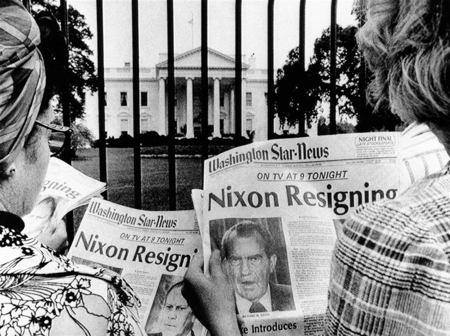 Watergate hunde a Richard Nixon