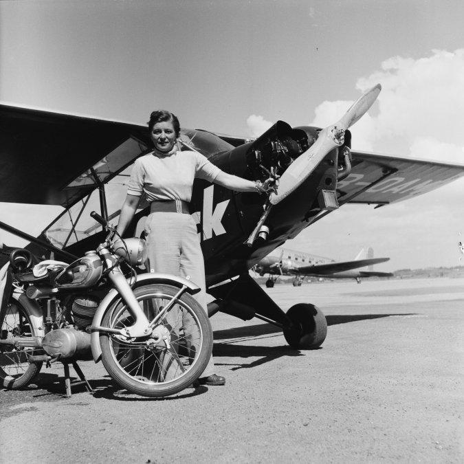 Elly Beinhorn, centenaria pionera de la aviación