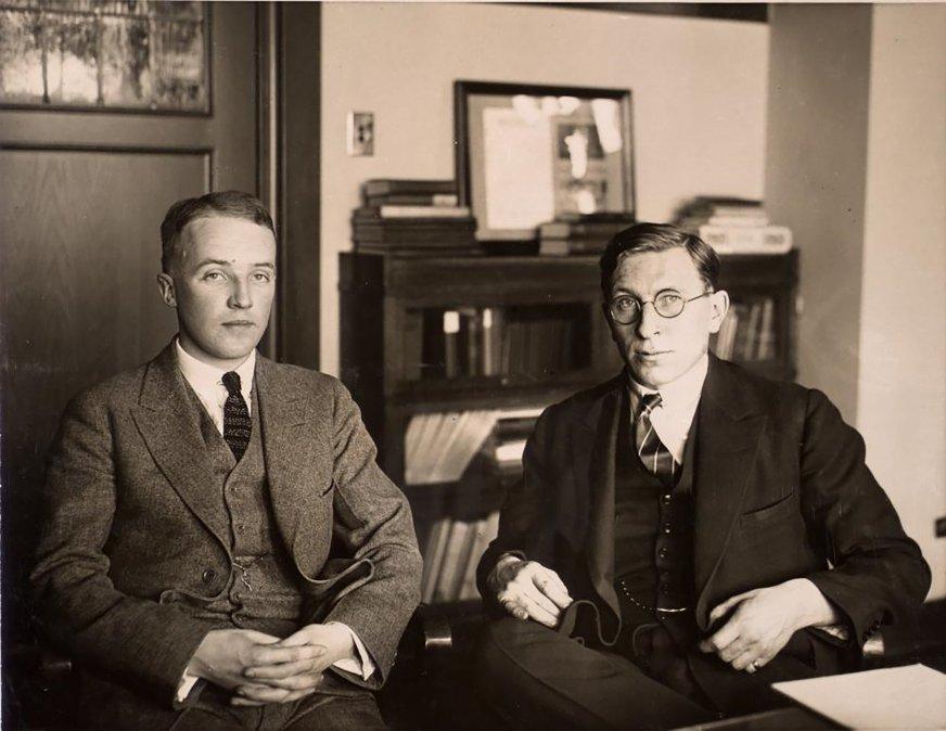 Charles Best y Frederick Grant Banting